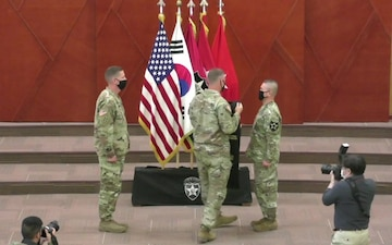 2ID/RUCD Change of Stole ceremony