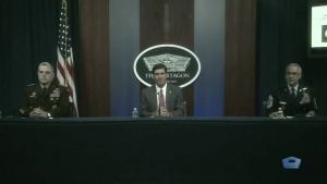 DOD Leaders Host Virtual Town Hall Meeting