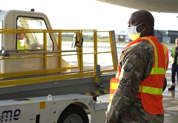 US Soldiers arrive in Poland for Defender Europe 20 Phase II