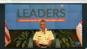 Cyber Command Leader Speaks at AUSA