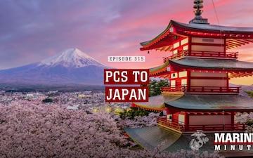 Marine Minute: PCS To Japan