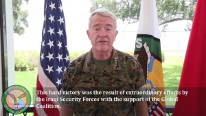 USCENTCOM 3rd anniversary of the liberation of Mosul