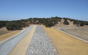 Folsom Dam Raise Project, Dike 8