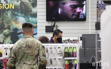 This is My Squad: Schofield Barracks Clothing Store