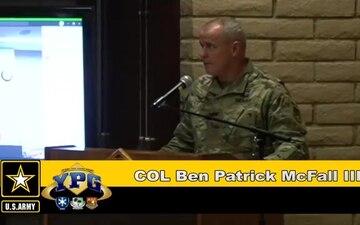 U.S. Army Yuma Proving Ground Change of Command 2020