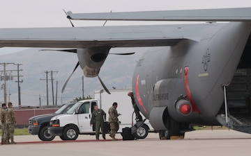 Two California Air National Guard MAFFS-equipped C-130-J aircraft activated to assist with wildfires