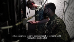 USS Carl Vinson (CVN 70) Sailor Receives Challenge Coin