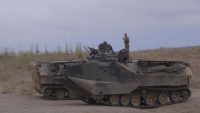 AAV Commander Course navigates through Pendleton