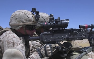3rd Battalion, 8th Marine Regiment M240B BROLL