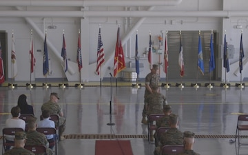 3rd Marine Aircraft Wing Change of Command Ceremony