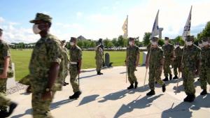 U.S. Navy Recruit Training Command Graduation July 24, 2020