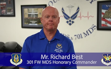 301 FW Teaching Tuesday: Mr. Richard Best