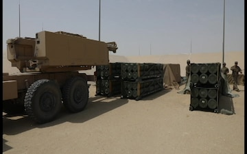 Soldiers Train with High Mobility Artillery Rocket System