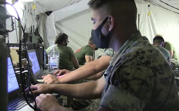 Marine Wing Communication Squadron 18 COMMEX B-Roll
