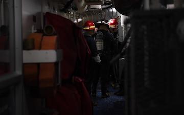 Maximize Training to Minimize Damage - USS Barry Damage Control Training