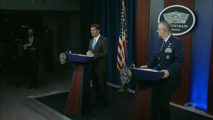 Senior Defense Officials Brief Reporters at the Pentagon