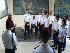 Dyess Airmen commemorate retaking of Corregidor Island