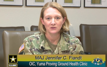 U.S. Army Yuma Proving Ground Health Clinic Update