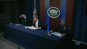 Senior DOD Officials Brief Pentagon Reporters on COVID-19