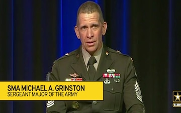 Sergeant Major of the Army on Taking Action against Sexual Harassment and Sexual Assault