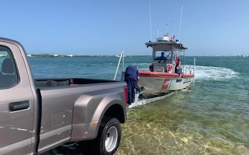B-Roll: Coast Guard Sector and Station Key West prepare for Hurricane Isaias