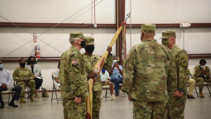 MSNG's Largest Unit Welcomes First Female Battalion Commander