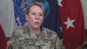 Major General Tracy R. Norris Thanks Texans