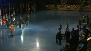 Defense Secretary Hosts Change of Responsibility Ceremony