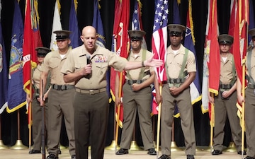 TECOM Change of Command Ceremony