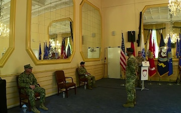 SOCEUR Change of Responsibility Ceremony