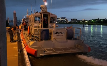 Coast Guard Station Charleston conducts post Tropical Storm Isaias assessment