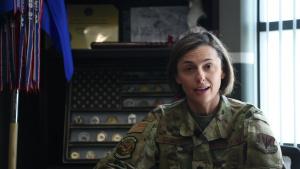 366th MXS Commander promotes Key Spouse Program