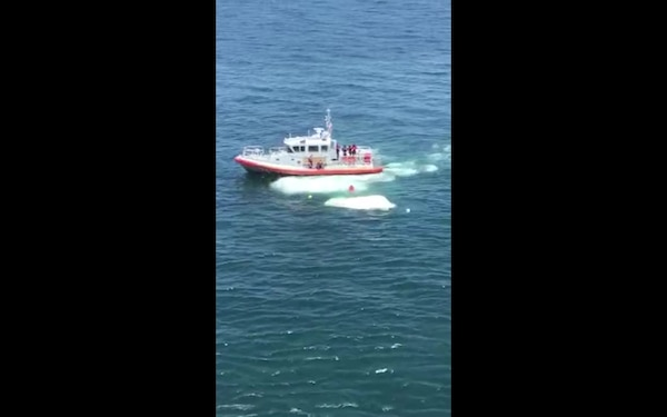 Coast Guard rescues 2 adults, 2 children south of Southwest Pass