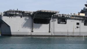 USS Tripoli (LHA 7) arrives at Naval Station Guantanamo Bay