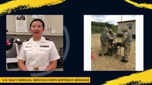NAMRU-Dayton Recognizes U.S. Navy MSC's 73rd Birthday