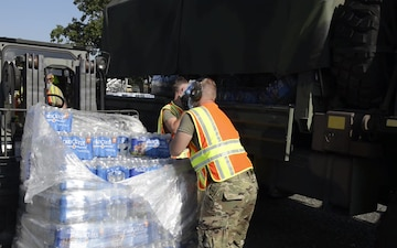 Connecticut Guard assists Tropical Storm Isaias Response