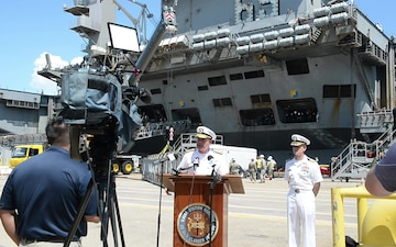 USS Dwight D. Eisenhower (CVN 69) Returns Home to Norfolk