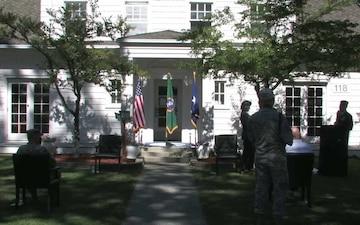Retirement Ceremony for Brig. Gen. Jill Lannan