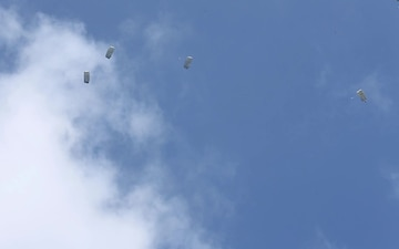 Chuting For The Ground | Marines with 3rd Marine Logistics Group conduct parachuting operations