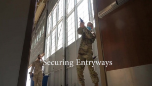 Security Forces Train How They Respond