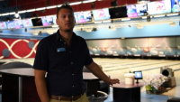 Ederle Arena Opens for Bowling BROLL