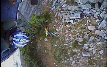 Coast Guard rescues hiker injured by falling boulder on Iron Cap Mountain, WA