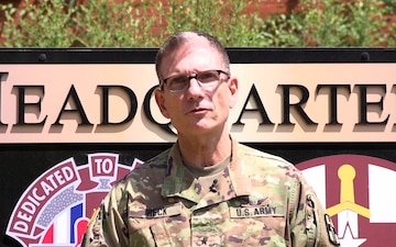 807th Commanding General 2020 SHARP Message