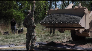 Pennsylvania Army Reserve engineers incorporate community service into their training