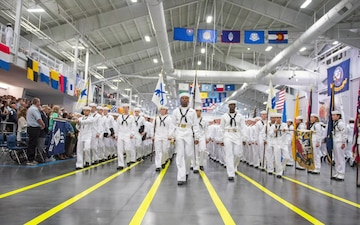 Great Lakes Converts Drill Halls to Barracks Aboard RTC