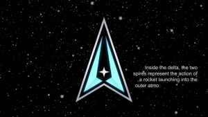 Legacy of the new US Space Force logo
