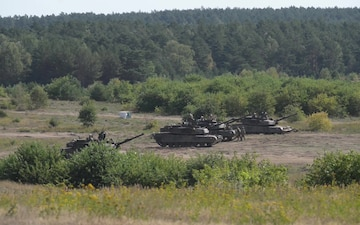 Combined Arms Live Fire in Poland