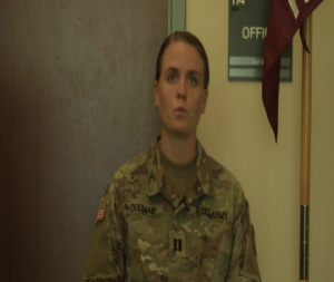 Army Reserve Officer Discusses COVID-19 Response