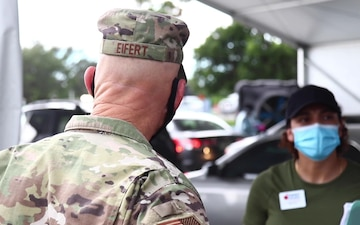 Florida Adjutant General Visits Miami Community Based Testing Sites - BROLL