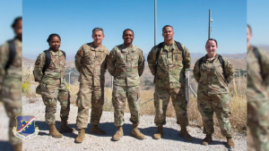 39th ABW Chapel team visits the 11th Missile Defense Battery